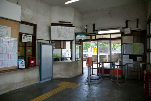 東新庄駅改札口