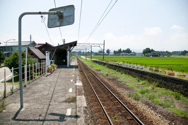 釜ヶ淵駅ホーム
